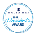 Royal Caribbean International Cruise Line Supplier Award
